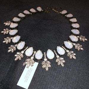 BaubleBar opal wreath collar necklace